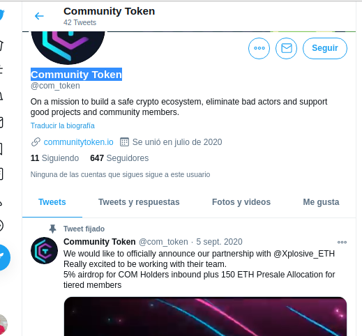 image 2 attached to Community Token review by LUIS